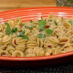 Michael Symon's Orecchiette with Chiles and Garlic recipe. #thechew