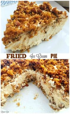 """Fried"" Ice Cream Pie! – Incredible Recipes From Heaven"