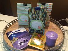Stampin Up, 30 Minuten Wellness, Geschenk, Goodies, Verpackung, Designer Papier, SAB 2014, Sale A Bration, Süße Sorbets