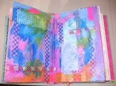 Tips and Ideas for Using Deco Tape in your Art Journal