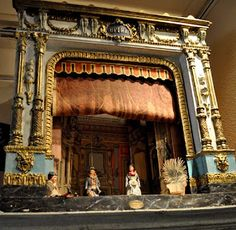 Antique French Pupper Theatre