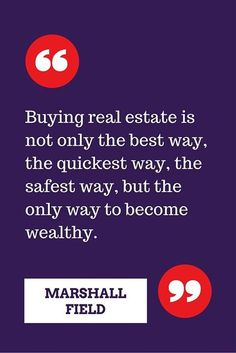 real estate quote on investing from the famous andrew
