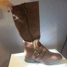 7547a494004f7 16 Best Tall brown boots images | Casual outfits, Cute outfits, Date ...
