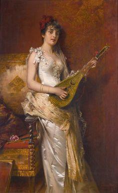 conrad-kiesel-1846-1921-daydreams