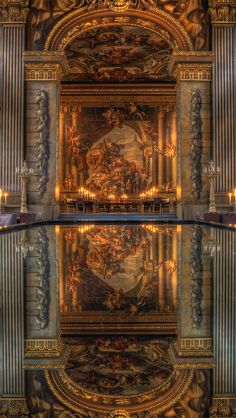 The Old Royal Naval College is the architectural centrepiece of Maritime Greenwich, a World Heritage Site in Greenwich, London.
