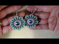 Hermosos Aros de Perlas y Cristales...Clase #90!!! - YouTube