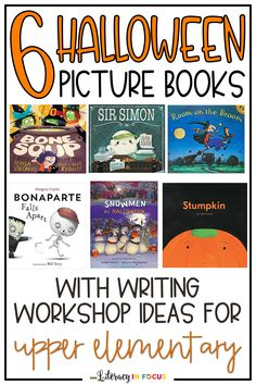 Halloween Reading and Writing Activities for Upper Elementary and Middle School