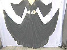 Belly Dance Costume Gypsy Skirt Boho Flair Top Choli Photo ...