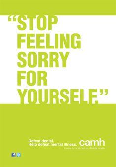 """Mental Illness Stereotypes: """"Stop Feeling Sorry For Yourself"""" 