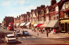 Station Road, Chingford, Essex 1960s