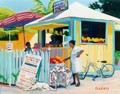 Our Market by artist Shari Erickson