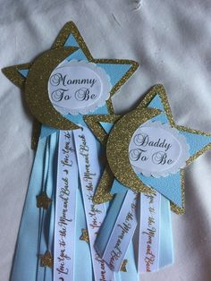Mommy/Daddy to Be pin setLove you to the Moon and Back Space Baby Shower, Baby Shower Pin, Baby Girl Shower Themes, Baby Shower Balloons, Baby Shower Favors, Baby Shower Parties, Star Baby Showers, Daddy To Be, Wedding Favors
