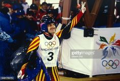 Olympiasieger Georg Hackl 1998 Nagano