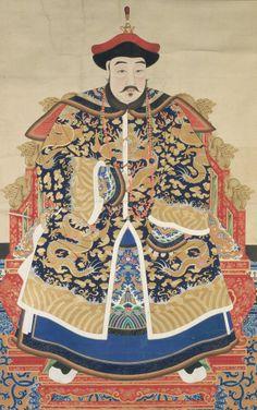 Chinese Art   Portrait of Dodo, Prince Yu (1614-1649)