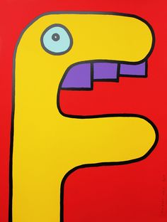 Yellow Head / Thierry Noir - Howard Griffin Prints