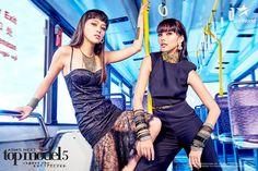 Maureen and Veronika Photographer: Yu Tsai Maureen Wroblewitz, Asia's Next Top Model, Urban Chic, Filipina, The Girl Who, Philippines, Bodycon Dress, Photoshoot, Celebrities
