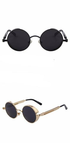 56fdb0cbf36 Keep it cool and unique in its round covered frame  Shades  Fashion   Womenstyle