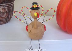 Here's a how-to on a turkey topper! :0)