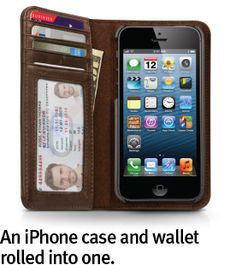 Twelvesouth:  BookBook for iPhone 5 is the latest installment in our library of BookBooks. This hybrid wallet and iPhone case mimics a pocket-sized, vintage book.