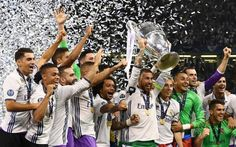 Real Madrid became the first team to retain the European Cup since AC Milan