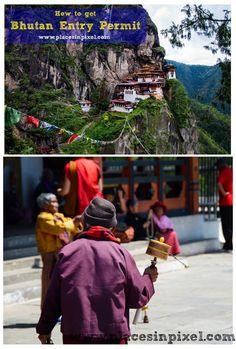 #Bhutan Travel Visa / Entry permit.