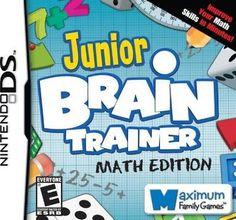Junior Brain Trainer Math Edition - Nintendo DS