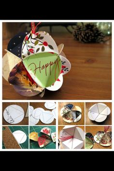 - what a great idea except we don't get so many Xmas cards these days What To Do With All Those Christmas Cards?Upcycling - what a great idea except we don't get so many Xmas cards these days What To Do With All Those Christmas Cards? Christmas Card Crafts, Diy Christmas Ornaments, Christmas Projects, Holiday Crafts, Holiday Fun, Christmas Holidays, Christmas Decorations, Recycled Christmas Cards, Paper Ornaments