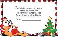 Christmas Scavenger Hunt - Fun Idea