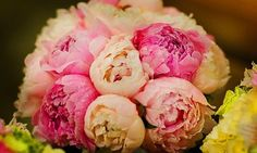 Wedding Flowers Saturdays: Pretty Peony Wedding Bouquets - My Inspired Wedding by WedAlert Network