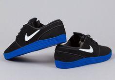 Nike SB stefan janoski lunar black/ blue sole