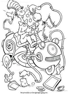 Seuss Coloring Pages: Celebrate Dr. Seuss's Birthday with Your … Dr. Seuss Coloring Pages: Celebrate Dr. Seuss's Birthday with Your … Easy Dr. Seuss Coloring Pages: Celebrate Dr. Seuss's Birthday with Your … Source by Dr. Seuss, Dr Seuss Lorax, Dr Seuss Art, Dr Seuss Crafts, Dr Seuss Week, Kids Crafts, Dr Seuss Coloring Pages, Preschool Coloring Pages, Cool Coloring Pages