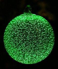 Look what I found on #zulily! Green Stardust Ornament by Echo Valley #zulilyfinds