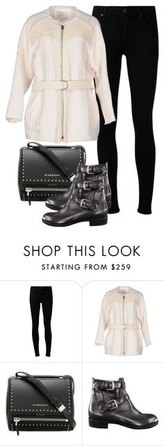 """Geen titel #227"" by maudejans ❤ liked on Polyvore featuring Citizens of Humanity, IRO, Givenchy and Gianvito Rossi"