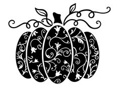 Pumpkin icon vector by criske bankat on Dribbble Vinyl Crafts, Vinyl Projects, Circuit Projects, Silhouette Cameo Projects, Silhouette Design, Cricut Vinyl, Svg Files For Cricut, Vinyl Decals, Diy Halloween