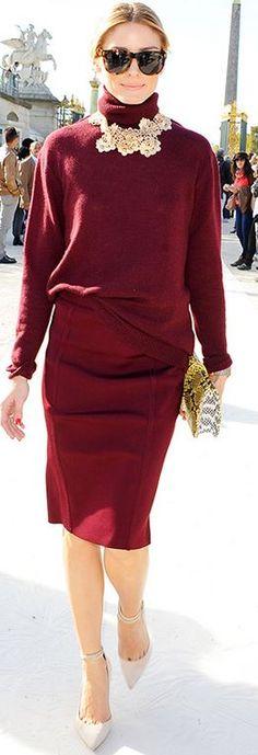 Sweater and skirt – Nina Ricci Shoes – Gianvito Rossi Nina Ricci Linen and cashmere...