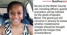 Sandra Bland should have never been arrested in the first place. A cop's power-hungry recklessness wrongfully landed her in jail and she was found hanging in a cell days later. A jury saw no reason to indict? America is sick. SICK! - @RahielT