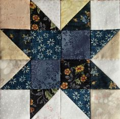 Regalos de Tela: TUTORIAL VARIABLE STAR PATCHWORK