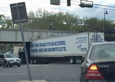 On The Road To Success There Are No Shortcuts