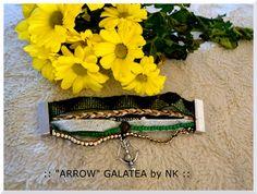 "bracelet manchette aimanté ""ARROW"" by GALATÉA : Bracelet par nellykreations"