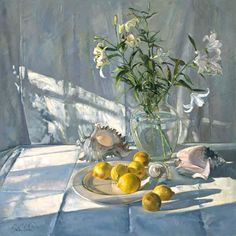 Timothy Easton - Reflections and Shadows (oil on canvas)
