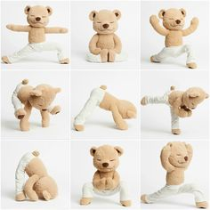 Meddy Teddy is a bendable meditating, yoga and mindfulness teddy bear. Teach kids/children by bending Meddy Teddy into different yoga and meditation poses. Baby Massage, Chico Yoga, Mindfulness For Kids, Easy Meditation, Learn Yoga, Cute Teddy Bears, Tatty Teddy, Yoga For Kids, Bears