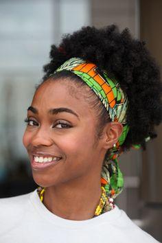 Hair Street Style: Chic Summer Scarves | Essence.com