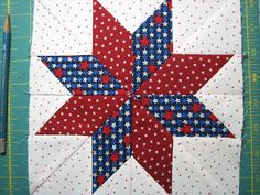 Red Letter Quilts: 8 Point LeMoyne Star Tutorial - No Y Seams!