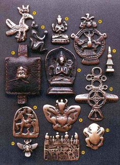 The Ancient Amulets of Tibet: THOGCHAGS. Thogchags are Tibetan talismans made of bronze and meteoric metals dating as far back as the Bronze Age. There is little research into their origins, as excavation of Tibetan sites was considered taboo, so there is still much to learn about their significance in Tibetan civilization.