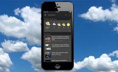 Google Lanza una App de Noticias y Tiempo para iPhone y iPad en iOS 8