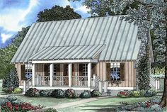 House Plan 62115 | Cabin Country Hillside Southern Vacation Plan with 1374 Sq. Ft., 4 Bedrooms, 2 Bathrooms at family home plans