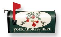 Great for custom mailboxes.  We use the rural box and packages can be put inside!  Great quality