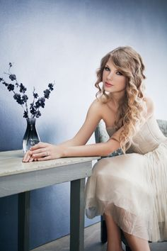 Taylor Swift - So strikingly beautiful, amazing singing voice, and a wonderful role model.
