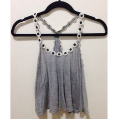 LF daisy tank top Authentic LF daisy tank top. Worn twice. This is just for the gray top. LF Tops Tank Tops