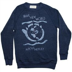 Brave New World book cover fleece